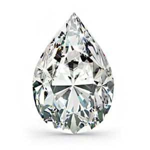 Pear Shape Diamondt